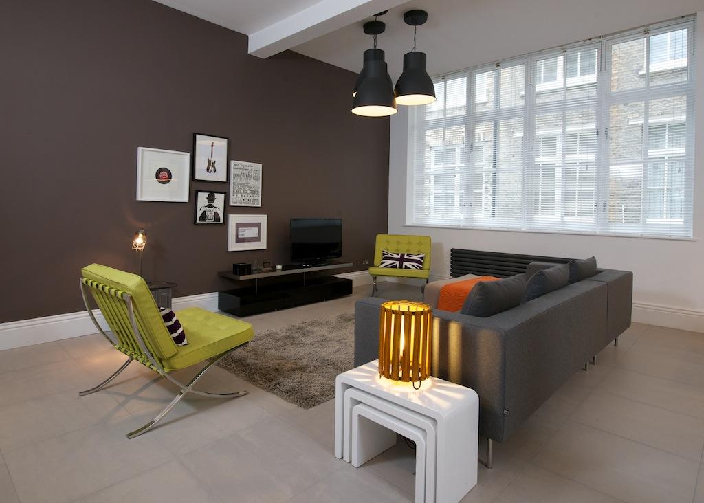 Warehouse apartment london e1 commercial interior for Commercial interior design london
